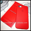 Chirstmas gift wholesale cell phone accessories leather case for apple iphone 5