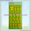 Non-toxic kids stickers Eco-friendly EVA sponge sticker,3D eva foam stickers