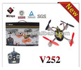 WL toy new 2.4G 4 channel 4-axis mini radio control rc flying insect toy