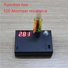 2013 Newest multifunctional portable ecig ego ohm tester