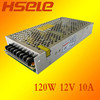 voltage constant dc 120W 5v/12v/24v switching power supply from wenzhou