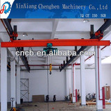 LX type electric overhead underslung crane for 5tons