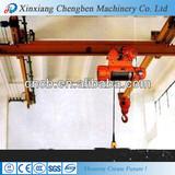 Beat quality single beam overhead underslung crane for hot sale