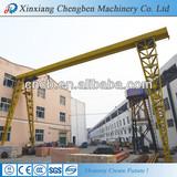 2013 Electric single girder gantry crane