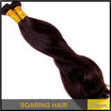 "Top Quality Brazilian Straight Remy Hair Weaving 12""-28"" Natural Color wave human brazilian hair weft two tone brazilian hair"
