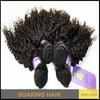 Kinky Curly Rose Hair Weft Remy Hair Weave Malaysian Hair Extension 100% cheap human hair 10-30inch virgin human hair