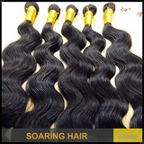 Wholesale price best quality 10''-30'' Peruvian virgin hair body weave Natural color peruvian body wave hair