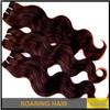 "Soaring Hair product Unprocessed Grade AAAAA Remy Brazilian Virgin Human Hair Weft 16""-28"" hair weft wholesale cheap human hair"