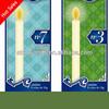 white 3x3 pillar candle