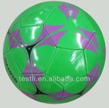 Laser PVC soccer ball/football