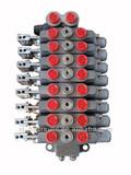 DL-L8-8OT hydraulic directional control valve, multiple direction valve ,8spool