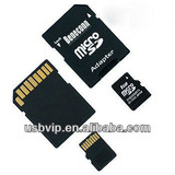 Micro sd card--Beneconn, memory card with adapter, T-Flash card, factory price, promotion gift, China, cheap price