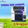 UV-420 UV flatbed printer/UV led printer/UV inkjet printer