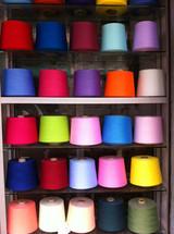 dope dyed spun polyester yarn 32s