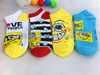 spongebob cartoon ankle socks women children