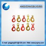 G80 eye self-lock safety hooks for chain