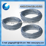 high quality fibre core 6x19+FC steel wire rope