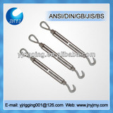 drop forged steel US type eye hook turnbuckles