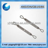U.S type hot dip galvanized double eye turnbuckles