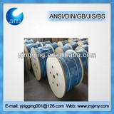 high quality ungalvanized marine 6x42 steel wire rope