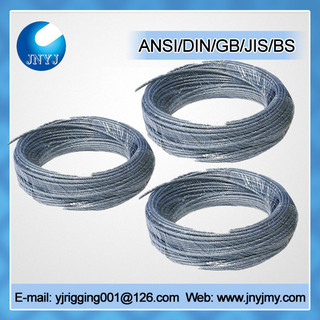 DIN3052 guying purpose wire rope