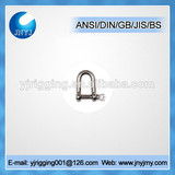 high qality european type small stainless steel shackle