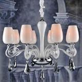 CLASSIC STYLE !Simple European design living room crystal pendant lamp ,