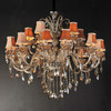 Luxury European-style chandeliers ,Egypt living room crystal pendant lamp