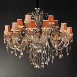 Luxury European-style chandeliers ,Egypt living room crystal pendant lamp