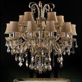 Luxury high-end European-style neo-classical ,K9/Egypt crystal pendant light