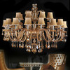 European luxury crystal hotel lobby hotel chandelier, Egypt crystal pendant light