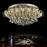 The fashion simple modern LED low voltage crystal ceiling light