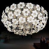 Fancy LED simple modern petals ceiling lamp