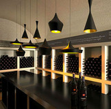 Modern Dining Room Aluminum Shade The Pendant Lamps