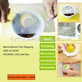 Silicone preservative film,Silicone film wrapping, Food grade standard,Food Cling Film, silicone kitchen utensils(Y111)