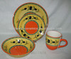 ceramic hand painted olive dinnerware/hand painting dinner set