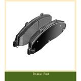 No-Asbestos Brake Pad for Ford Bronco