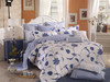 TC07 Lapis 100% tencel bed sheet set
