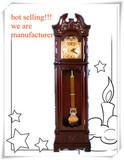 Resin peacock Home Decor elegant grandfather clock GF76
