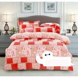 Textile 100% cotton 4pcs printed bedding set