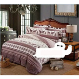4pcs Factory wholesale custom design best quality bed sheet set