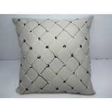 whole cotton pillow custom decorative pads printing cushion covers with stripe fabric