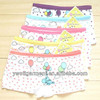 Girls cartoon cute boxer briefs/young girls underwear