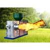 CE sawdust pellet feul automatic wood pellet burner