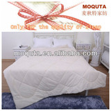 2013 nature white plain super soft and fluffy quilting cotton quilt