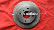 customized auto spare parts brake disc for CHEVROLET AVEO brake rotor 96534660