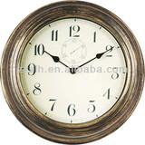 wholesales plastic round decorative antique wall clock