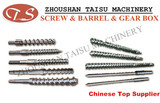extruder screw barrel for natural and synthetic rubber