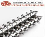38 CrMoAlA screw barrel for PVC pipe extruder machine