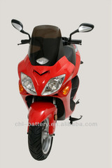 125cc equivalent electric motorcycle for cargo/parcel delivery